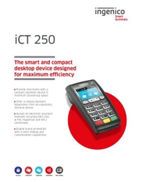 Ingenico 250 manual
